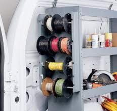 wire reel rack system american van
