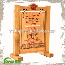 Wooden Menu Display Stands Extraordinary Restaurant Menu Display StandWooden Advertising BoardHotel
