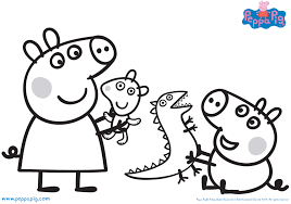 Some of them are born out of the creative minds living in the land of britain. Peppa Pig Coloring Pages Coloring Rocks