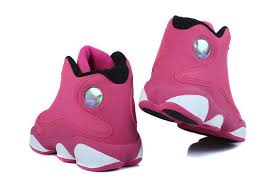 jordan shoes for girls 2014 black and white. girls air jordan 13 retro fusion pink/black-white shoes for 2014 black and white h
