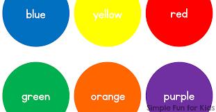 colors for kids. Unique Kids Inside Colors For Kids