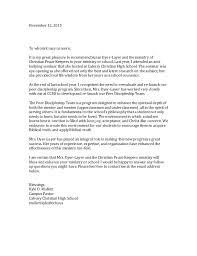 Recommendation Letter Pastor Kyle Mullett 11 12 15
