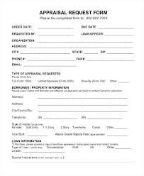 Appraisal Order Form Sample Construction Change Order Forms Sample ...