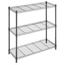 nice wire rack shelving 17 white closetmaid shelves shelf brackets