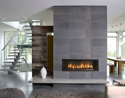 image of contemporary gas fireplace decor