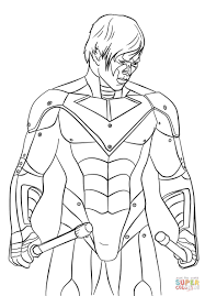 awesome nightwing coloring pages free 14 o the the nightwing coloring pages to view