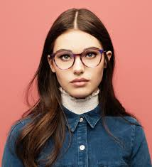 Eyeglasses Designs Styles The 70s Are Back In Style Round Colorful And Oversized