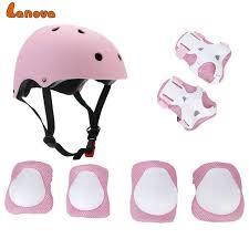 LANOVA <b>7pcs</b>/<b>Set</b> Protective Gear Set <b>Kids</b> Knee Pads Elbow Pads ...