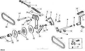 John deere parts diagrams john deere 212 tractor pc1473 variator