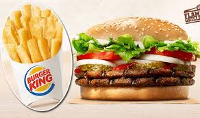 Burger King Protein Chart Ordering This At Burger King Will Use Up A Days Worth Of