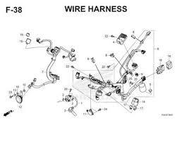 katalog suku cadang honda supra gtr 150 k56f f38 wire harness thumb