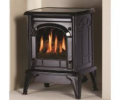 free standing ventless gas fireplace vent free