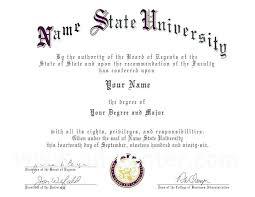 Of Fake High School Diplomas And Doctorate Diploma Template Phd