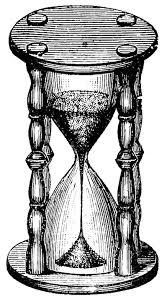 Resultado de imagen de Reloj de arena ilustración