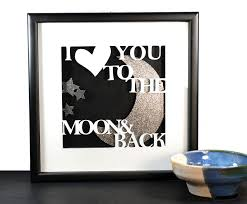layered shadow box paper craft project on 3d paper cut wall art with i love you diy sentiment 3d shadowbox tutorial