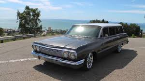 1963 Chevy Bel Air Wagon - YouTube