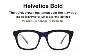 Type of picture frame Structure Design Made In Japan Design Made In Japan Helvetica For Your Nose Eyeglasses Inspired By Type Design Made