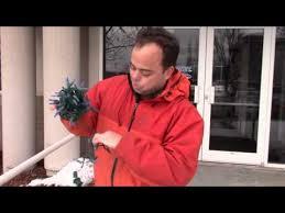 How to wrap Christmas tree <b>lights</b> the professional way - YouTube