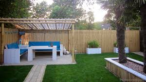 bamboo reed fence frame
