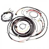 wiring electrical replacement parts cloth wiring harness w o turn signal wires