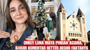 Luna mengawali kariernya sebagai model. Omg Luna Maya Pindah Agama Begini Faktanya Youtube