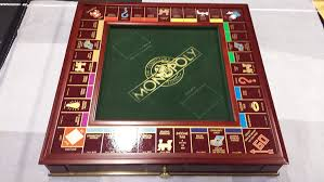 Wooden Monopoly Board Game Amazon Franklin Mint Monopoly Collector's Edition Toys Games 77