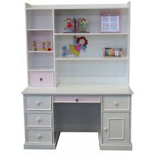 princess kids desk hutch