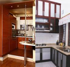 Charming Two Ikea Small Kitchen Design With Granite Countertops ...