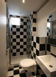 compact bathroom design. Black And White Compact Bathroom Design E
