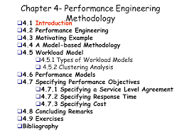 Performance Engineering Chapter 4 Performance Engineering Methodology Ppt Download