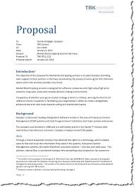 Management Consulting Essentials The Proposal Words Stir