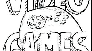 Video Game Character Coloring Pages Games Together With Awesome Kids