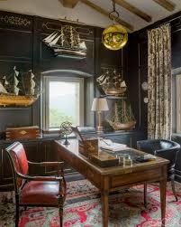 nautical office furniture. Presidential Rug Oriental Persian Office Black Paneled Walls Nautical Furniture