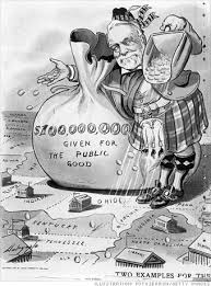 political cartoon andrew carnegie the american dream this cartoon symbolically portrays the philanthropic nature of andrew carnegie