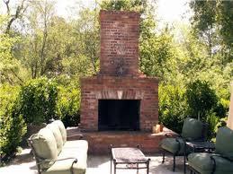 backyard fireplace plans full size