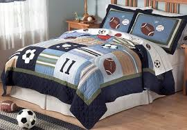 smart decorating boys bedroom in sports themes showing