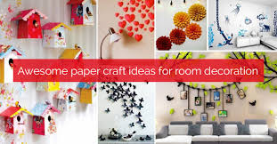 paper crafts decorate room decoration