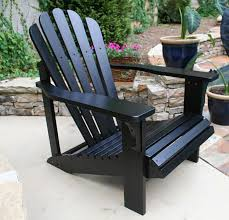 pair of adirondack chairs backyard and patios pertaining to black intended for ideas 5 black adirondack chairs r0