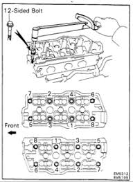 torque settings head bolts toyota Questions & Answers (with Pictures ...