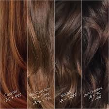 Chocolate Hair Weave Color Chart Milk Chocolate In 2019 Brown Hair Colors Hair Color