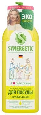 <b>Synergetic</b> Гель для <b>мытья</b> посуды Лимон — купить по выгодной ...