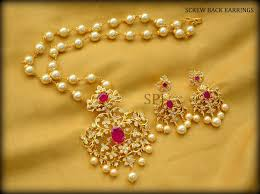 Hyderabad Gold Designs Shubam Pearls And Jewellery Vaishnavi Complex Charkaman