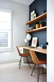 office inspirations. Mesmerizing Home Office With Blue Panelled Wall Inspirations Bed Desk Closet In One U