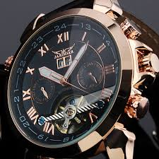 aliexpress com buy jaragar horloges mannen men s famous watches jaragar horloges mannen men s famous watches brand day week tourbillon auto mechanical watches wristwatch gift