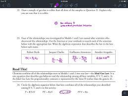 Gavin Gutowsky Chemistry Blog Gas Variables Pogil