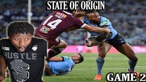STATE OF ORIGIN GAME 2 NSW VS QLD 2020 ...