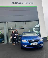 Al Hayes Motors Skoda - Congratulations to John and Maria who picked up  their Škoda Octavia from our Skoda branch in Ennis Co. Clare. We appreciate  the business and would like to