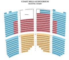 Seating Chart Pricing Guide South Coast Symphony