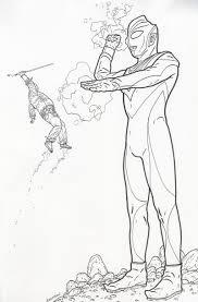Shaolin Cowboy Vs Ultraman By Geof