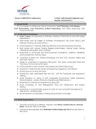 Sample Resume For Experienced Software Tester Sample Resume For 60 Years Experience In Testing instradentus 7